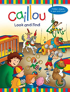 Caillou Look and Find 9782894508060