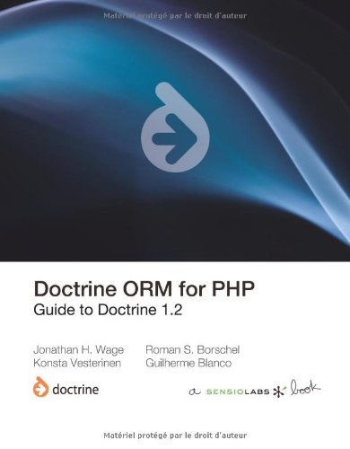 Doctrine Orm for PHP (1.2) 9782918390268