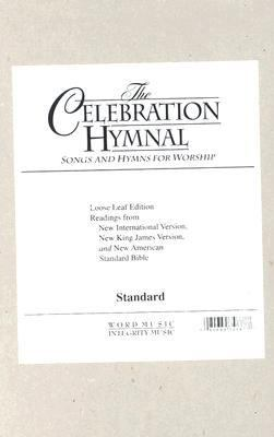 Celebration Hymnal 9783010160360