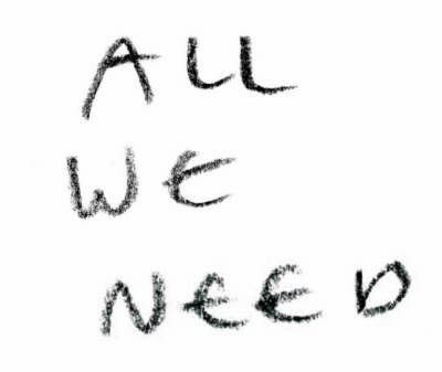 All We Need 9783037781197