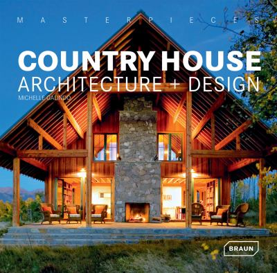 Country house architecture design by michelle galindo for Home architecture books