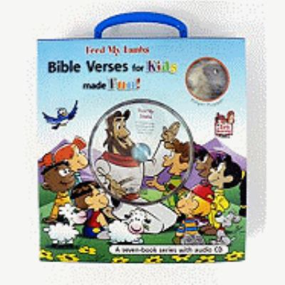 Feed My Lambs: Bible Verses for Kids Made Fun! [With Sticker(s) and Lamb Finger Puppet and 2 Award Certificates and CD (Audio) and 10 Bookmarks an 9783037303269