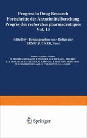 Progress in Drug Research / Fortschritte der Arzneimittelforschung / Progres des recherches pharmaceutiques 21009342