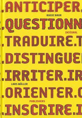Ruedi Baur Inta(c)Gral 9783037782033