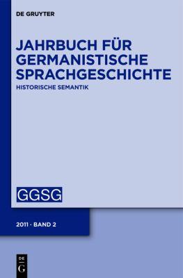 2011: Historische Semantik 9783110236590