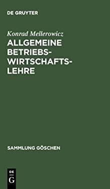 Allgemeine Betriebswirtschaftslehre 9783111020754
