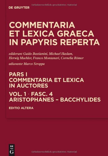 Aristophanes - Bacchylides 9783110245912
