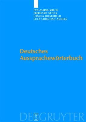 Deutsches Ausspracheworterbuch [With DVD] = German Pronunciation Dictionary 9783110182026