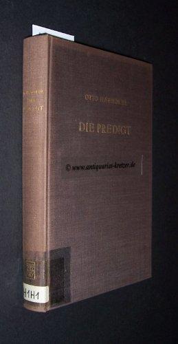 Die Predigt: Tiefenpsychologische Grundlagen Und Grundfragen 9783110051919