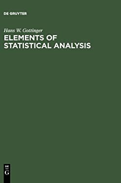 Elements of Statistical Analysis 9783110071696