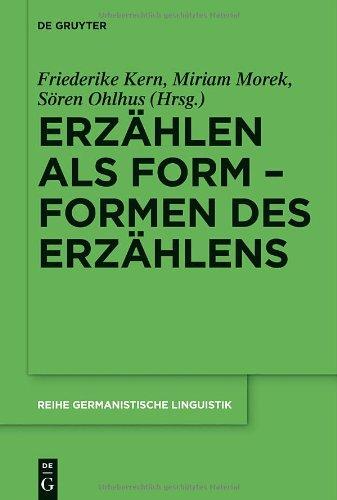Erz Hlen ALS Form Formen Des Erz Hlens 9783110280432