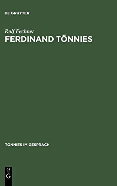 Ferdinand T Nnies: Werkverzeichnis 9783110135190