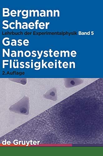 Gase, Nanosysteme, FL Ssigkeiten 9783110174847