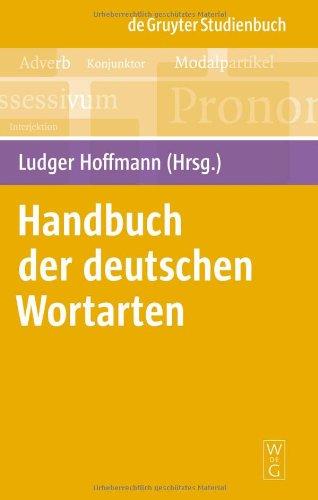 Handbuch Der Deutschen Wortarten 9783110215076