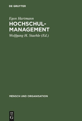 Hochschulmanagement: Informationssysteme F R Die Hochschulorganistion 9783110099447