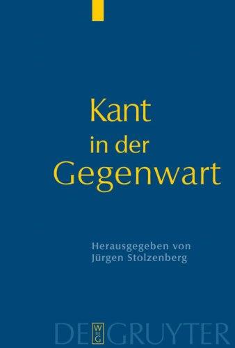 Kant in Der Gegenwart 9783110175295