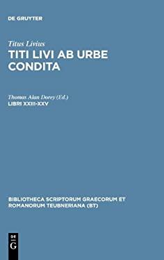 Libri XXIII-XXV 9783110255928