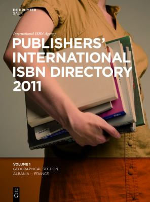 Publishers International ISBN Directory 2011 9783110230741