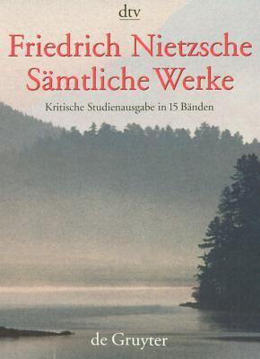 Samtliche Werke: Kritische Studienausgabe 9783110165999