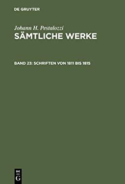 Schriften Von 1811 Bis 1815 9783110045611