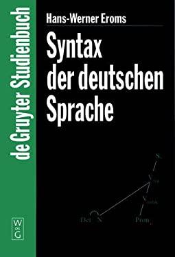Syntax der Deutschen Sprache 9783110156669