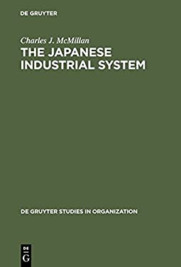 The Japanese Industrial System 9783110150865