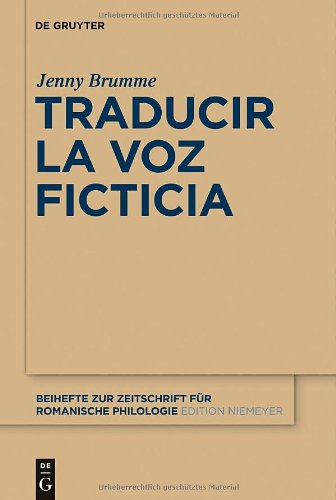 Traducir La Voz Ficticia 9783110263251