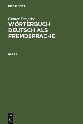 W Rterbuch Deutsch ALS Fremdsprache 9783110146394