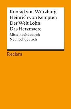 Der Welt Lohn Das Herzmaere (German Edition) 9783150028551