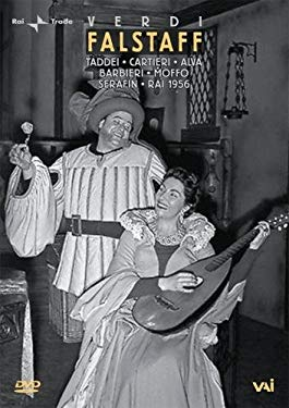 Verdi - Falstaff / Taddei, Carteri, Moffo, Barbieri, Alva, Serafin, RAI
