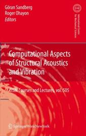 Computational Aspects of Structural Acoustics and Vibration 7906546