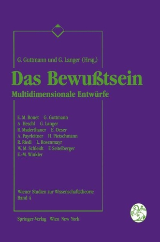 Das Bewuatsein: Multidimensionale Entwa1/4rfe 9783211823613