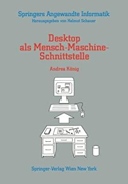 Desktop ALS Mensch-Maschine-Schnittstelle 9783211821350