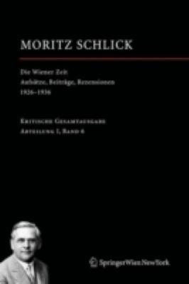 Die Wiener Zeit: Aufs Tze, Beitr GE, Rezensionen 1926 1936 9783211331149