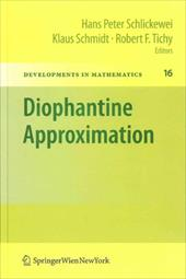 Diophantine Approximation: Festschrift for Wolfgang Schmidt