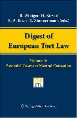 Essential Cases on Natural Causation 9783211369579
