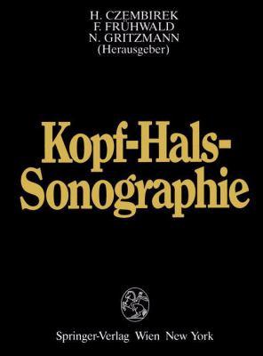 Kopf-Hals-Sonographie 9783211819784