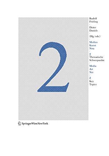 Medien Kunst Netz 2 / Media Art Net 2: Thematische Schwerpunkte / Key Topics 9783211238714