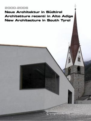 New Architecture In South Tyrol 9783211299548