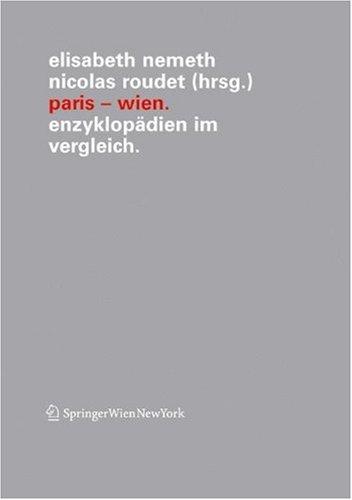 Paris Wien: Enzyklop Dien Im Vergleich 9783211215388