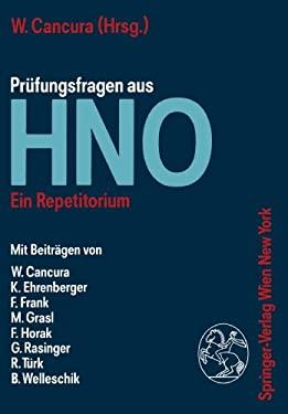 Pra1/4fungsfragen Aus Hno: Ein Repetitorium 9783211820834