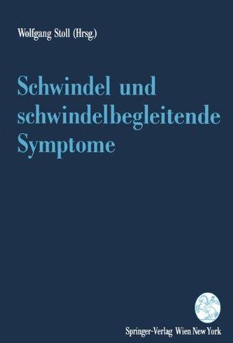 Schwindel Und Schwindelbegleitende Symptome 9783211825891