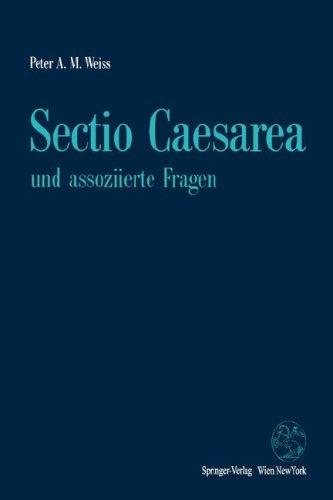 Sectio Caesarea Und Assoziierte Fragen 9783211825969