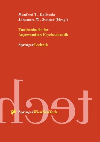 Taschenbuch Der Angewandten Psychoakustik 9783211831311