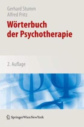 W Rterbuch Der Psychotherapie 9783211991305