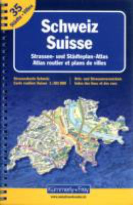 Switzerland Road Atlas 9783259015162