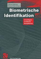 Biometrische Identifikation: Grundlagen, Verfahren, Perspektiven 21246533