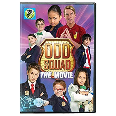 Odd Squad: The Movie DVD