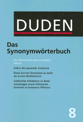Das Synonymworterbuch = Synonyms 9783411040834