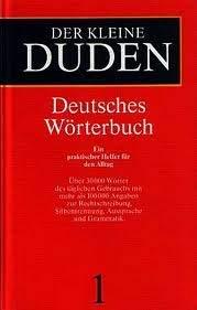Der Kleine Duden Deutsches Worterbuch